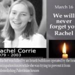Remembering Rachel Corrie (VIDEO)